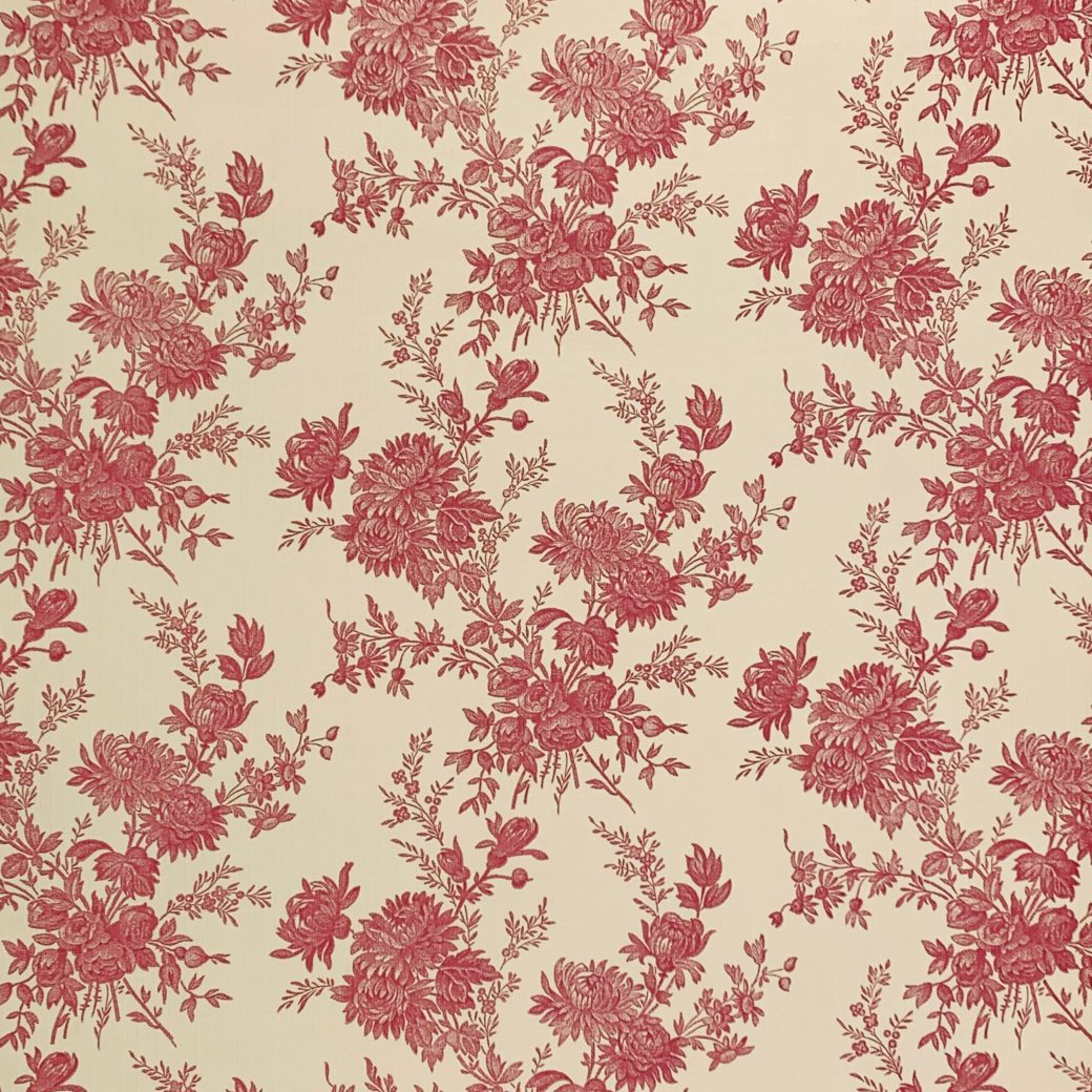 Romantic 1950s Floral wallpaper 3