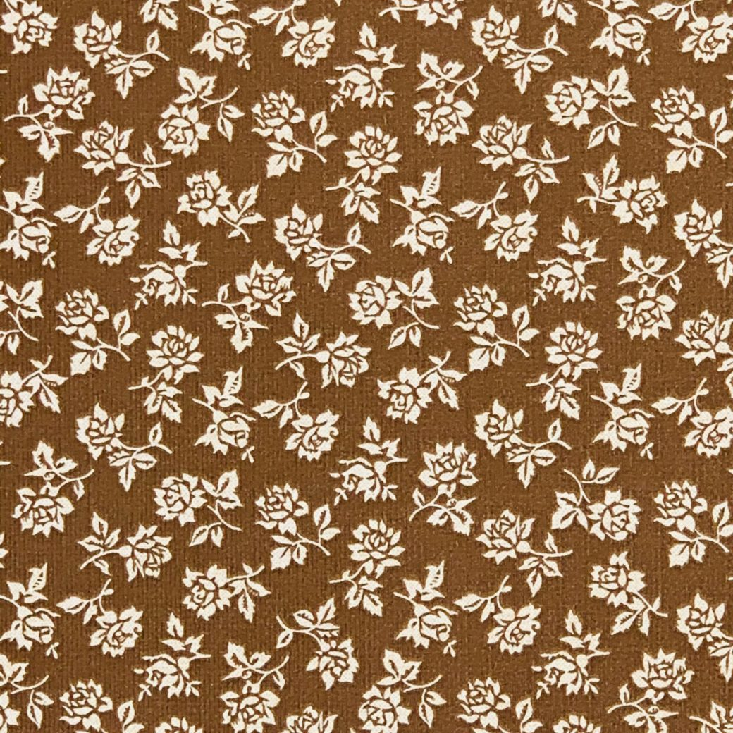 Small pattern floral wallpaper 1
