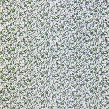Small Pattern Floral Wallpaper Green 3