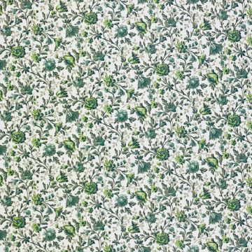 Small Pattern Floral Wallpaper Green 6