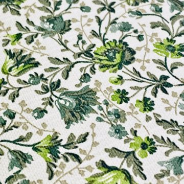 Small Pattern Floral Wallpaper Green 11