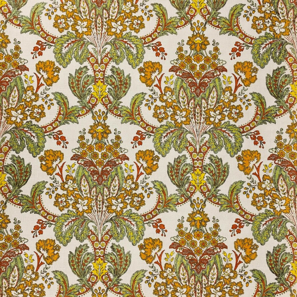 Vintage 1950s damask wallpaper 1