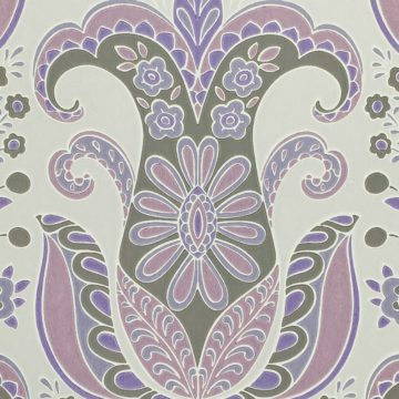 Vintage Abstract Floral Wallpaper 3