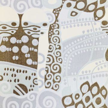 Vintage ethnic wallpaper 1