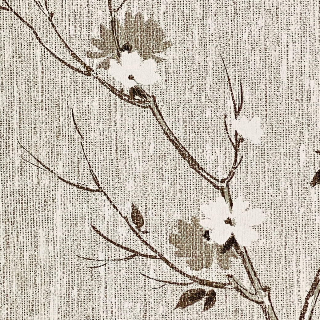 Vintage Asian Style Floral Wallpaper 8