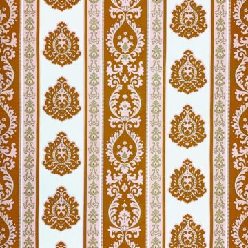 Vintage baroque stripes wallpaper