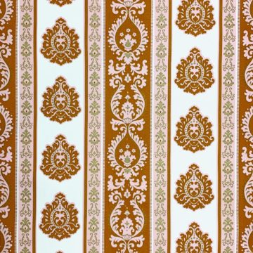 Vintage baroque stripes wallpaper 1