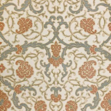 Vintage baroque vinyl wallpaper 1