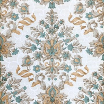 Vintage baroque vinyl wallpaper 5