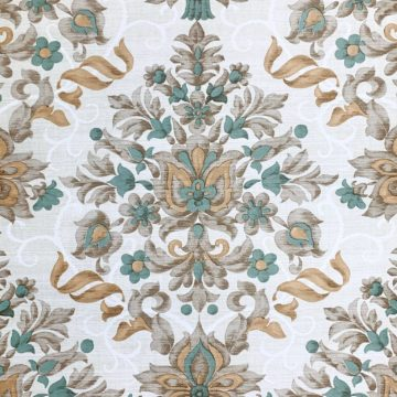 Vintage baroque vinyl wallpaper 1 1