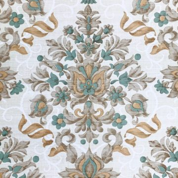 Vintage baroque vinyl wallpaper 2 1