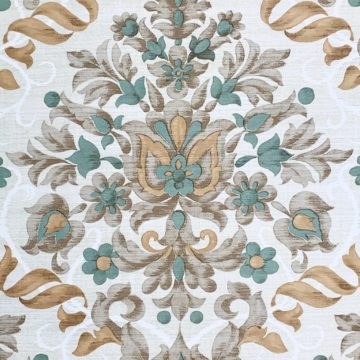 Vintage baroque vinyl wallpaper 3 1