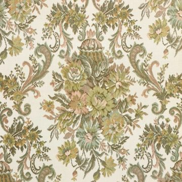 Vintage Baroque Wallpaper Brown and Green 3