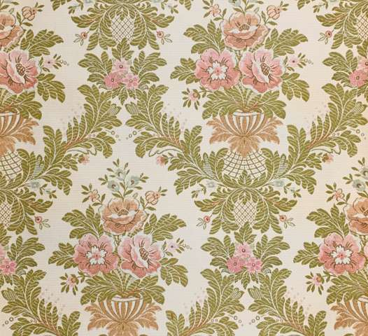 Vintage Baroque Woven Style Wallpaper