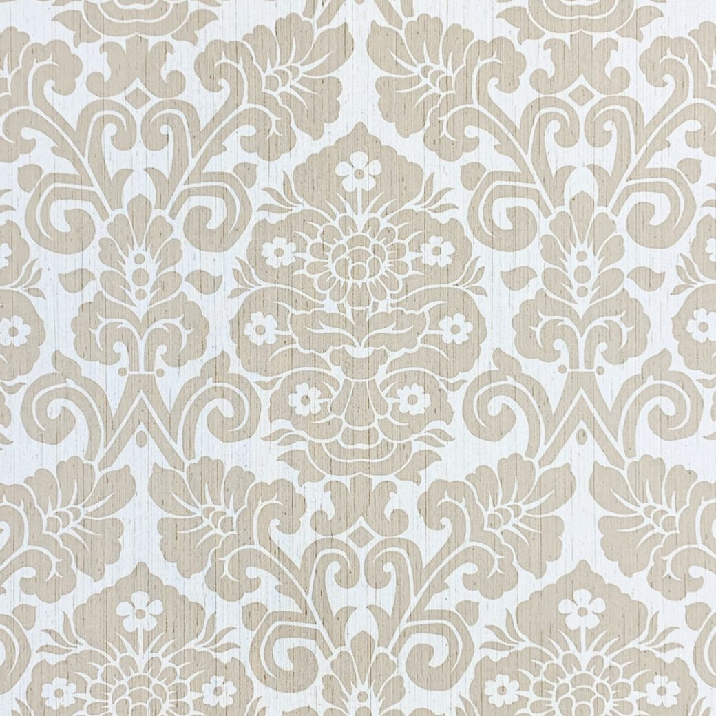 Vintage damask vinyl wallpaper 1 1