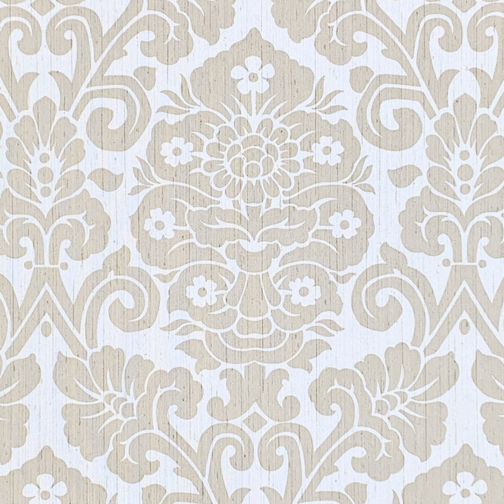 Vintage damask vinyl wallpaper 2 1