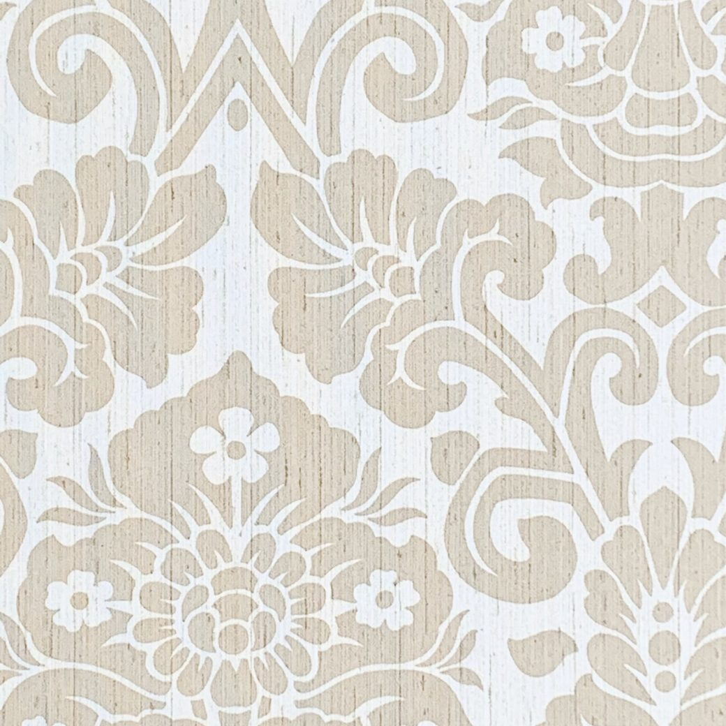 Vintage damask vinyl wallpaper 4 1