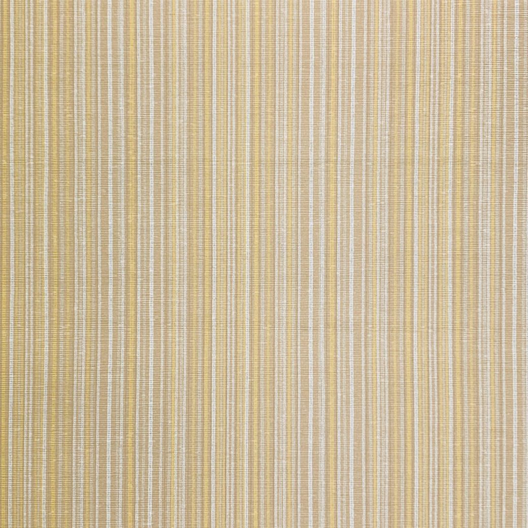 Vintage brown and yellow stripe wallpaper 1