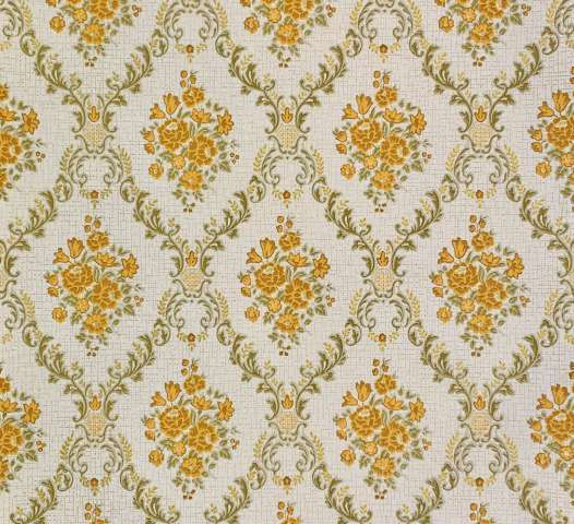 Vintage brown baroque wallpaper 1
