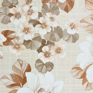 Vintage Brown Flower Pattern Wallpaper 5