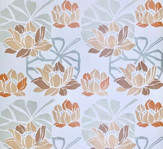 1980s floral wallpaper 7