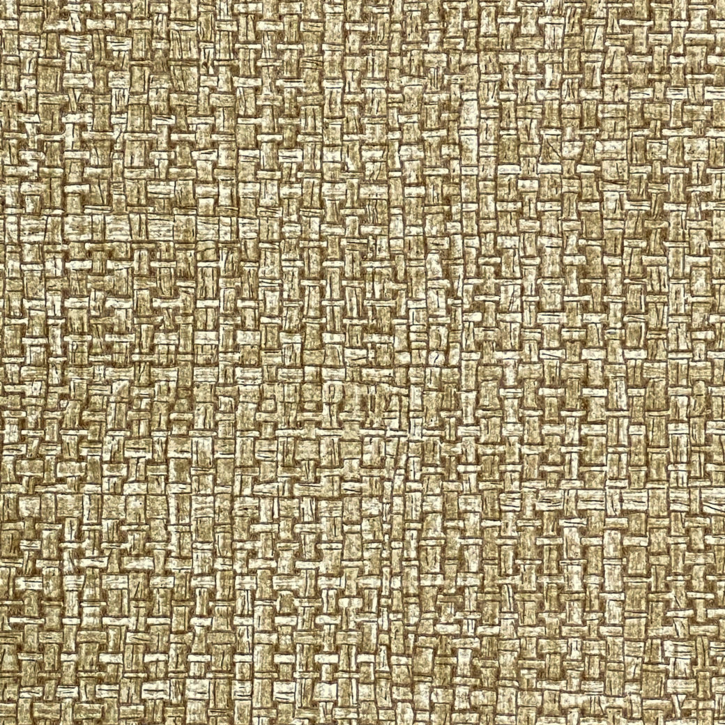 Vintage Brown Woven Grass Look 7