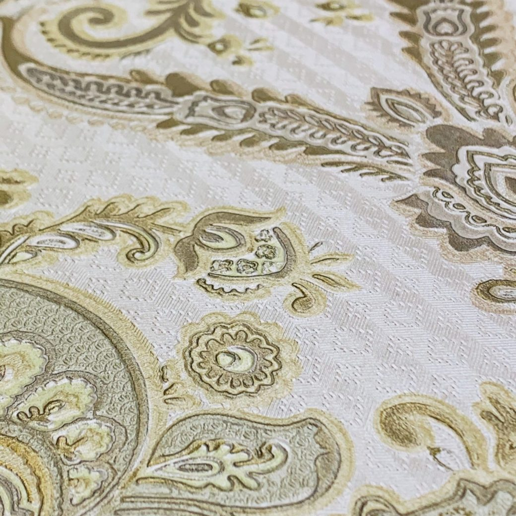 Vintage gold baroque wallpaper 4