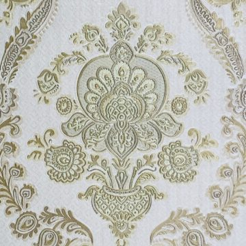 Vintage gold baroque wallpaper 6
