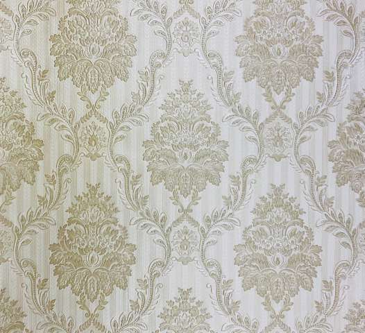 Vintage Castle Wallpaper with Embossed Pattern 1
