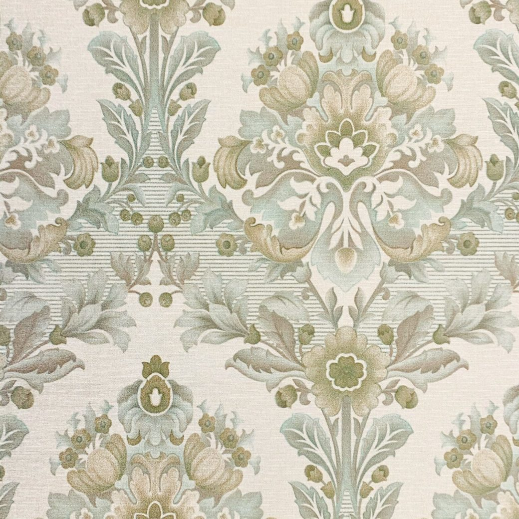 Vintage damask wallpaper 1 2