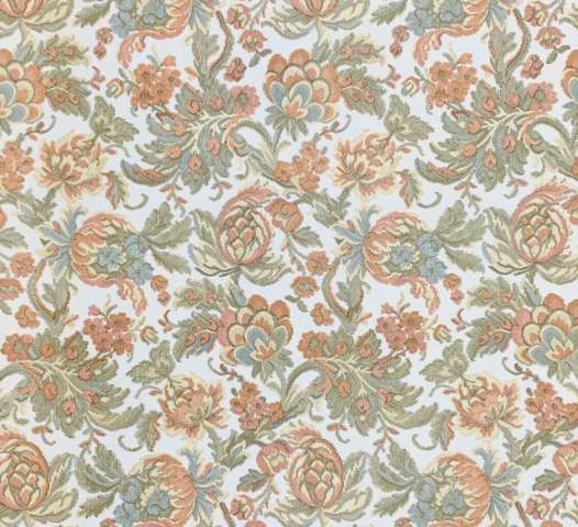 Vintage damask wallpaper