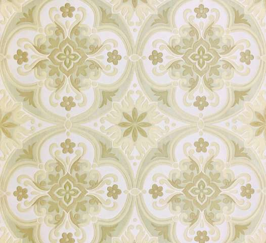 Vintage Embossed Ornament Wallpaper