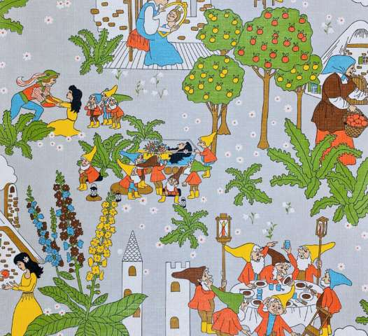 Vintage Fairytale Kids Wallpaper