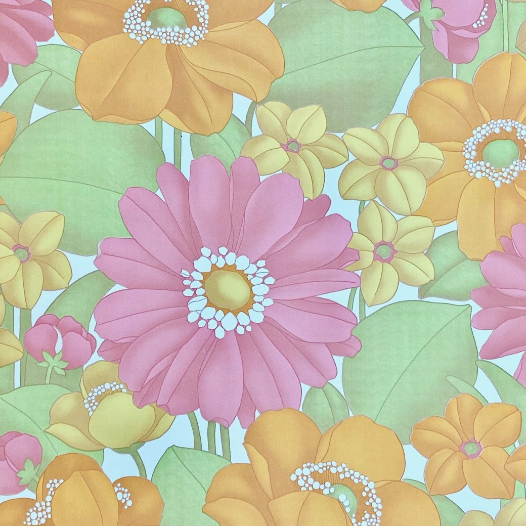 Floral Foam Wallpaper 4