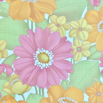Floral Foam Wallpaper 5