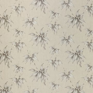 Vintage Floral Wallpaper Silver and Grey Flowers 6