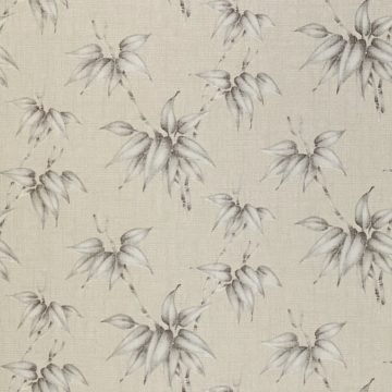 Vintage Floral Wallpaper Silver and Grey Flowers 7