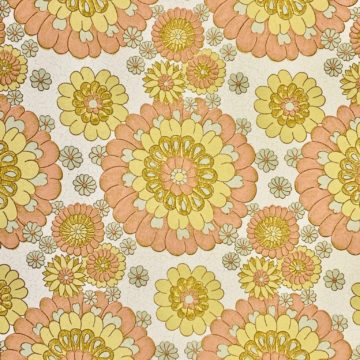Vintage flower wallpaper 3