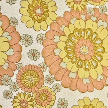 Vintage flower wallpaper 2