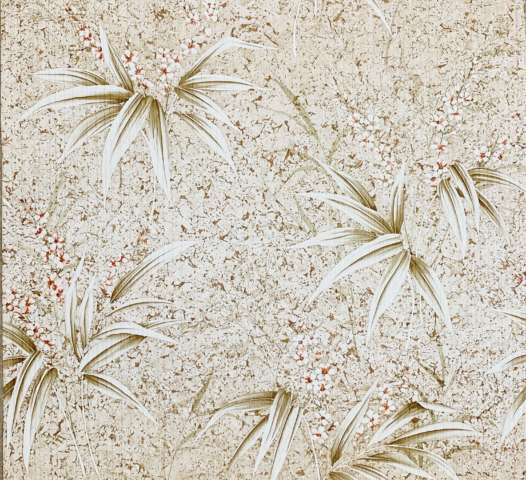 Vintage Flower Wallpaper Nature Brown