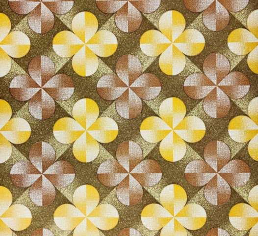 Vintage geometric flower wallpaper 1 1