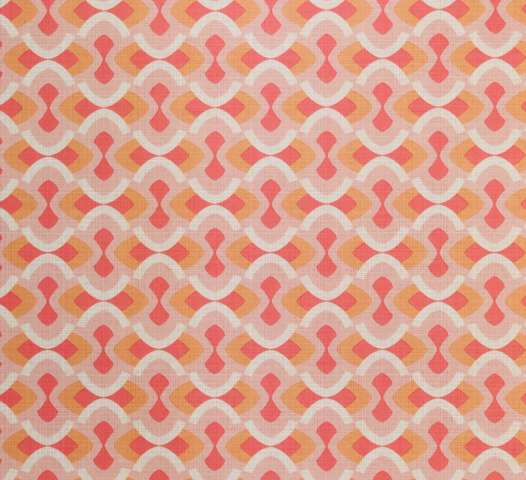 Vintage geometric pink wallpaper 1