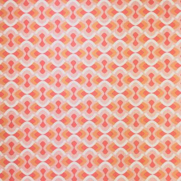 Vintage geometric pink wallpaper 2