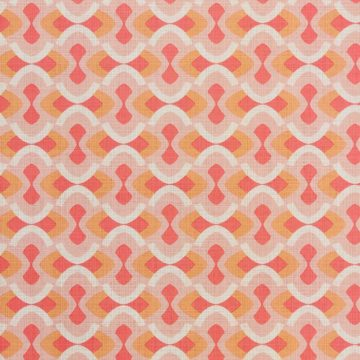 Vintage geometric pink wallpaper 3