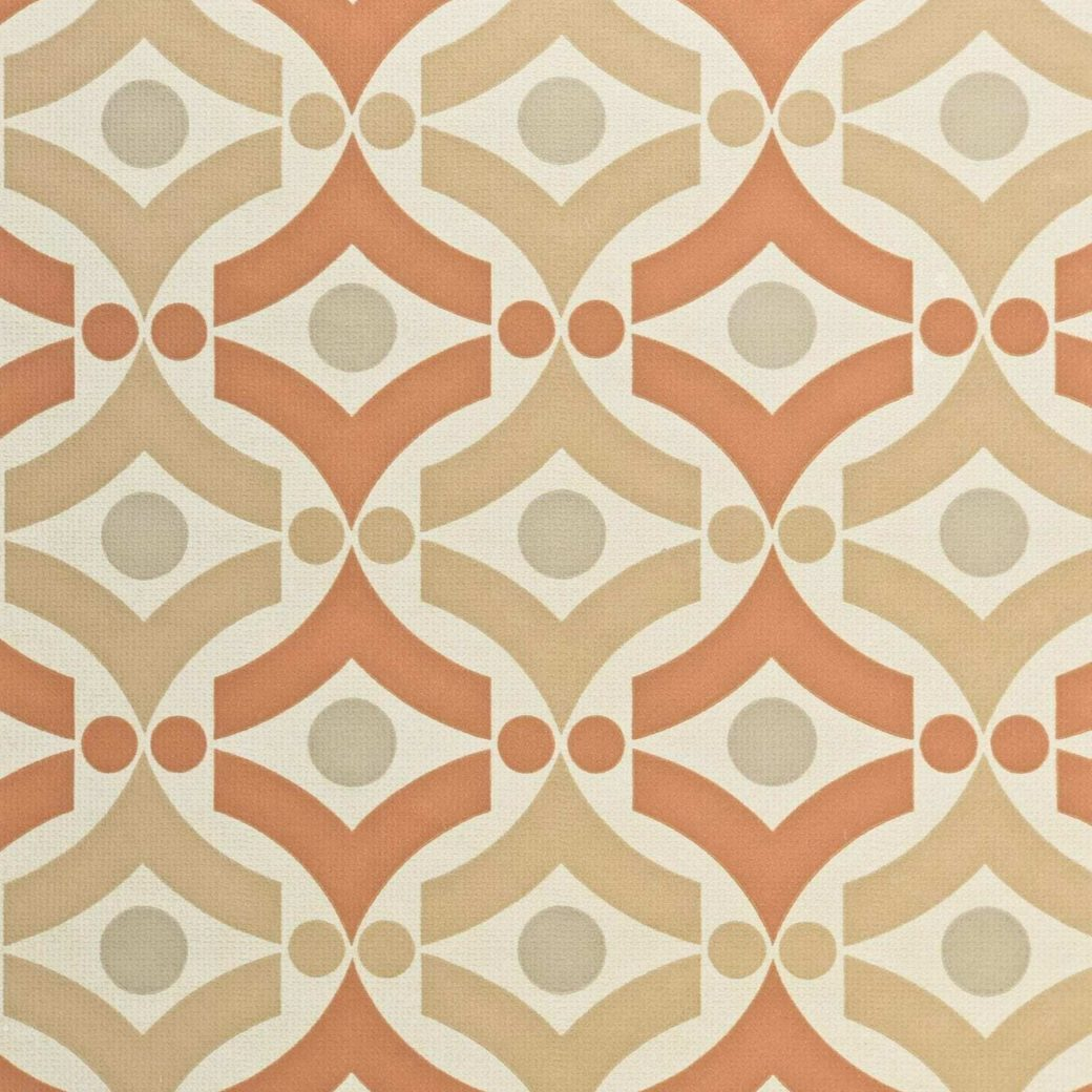 Vintage geometric retro wallpaper