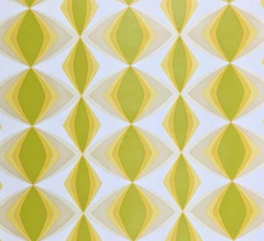 Vintage geometric vinyl wallpaper 1