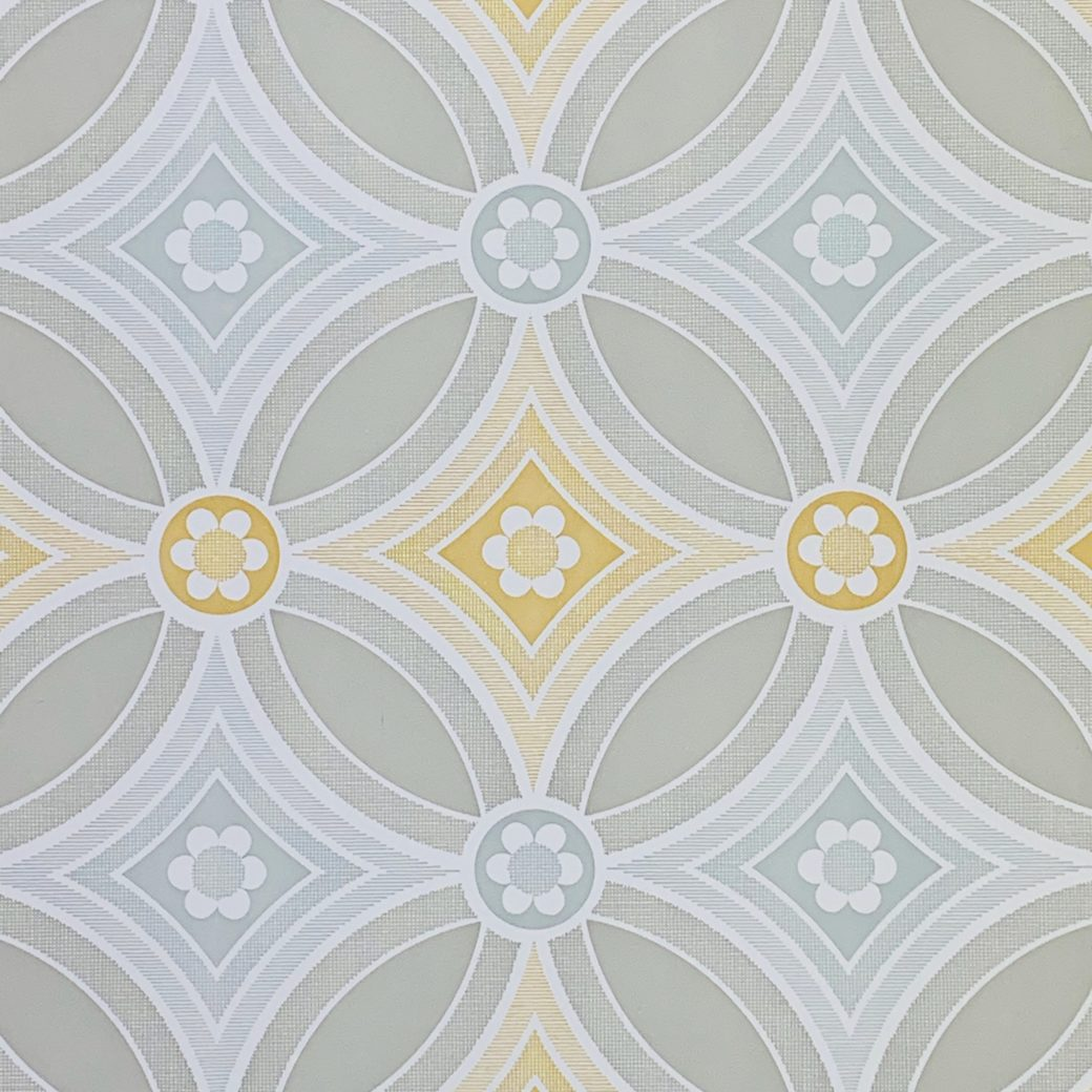 Vintage Geometric Wallpaper 2