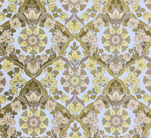 Vintage gold floral wallpaper 1