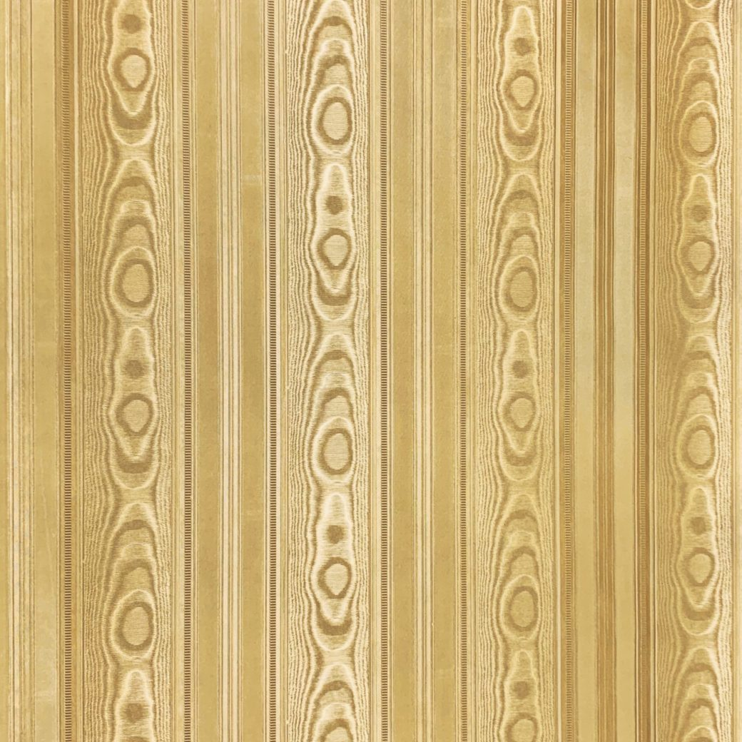 Vintage gold wallpaper with stripes 7