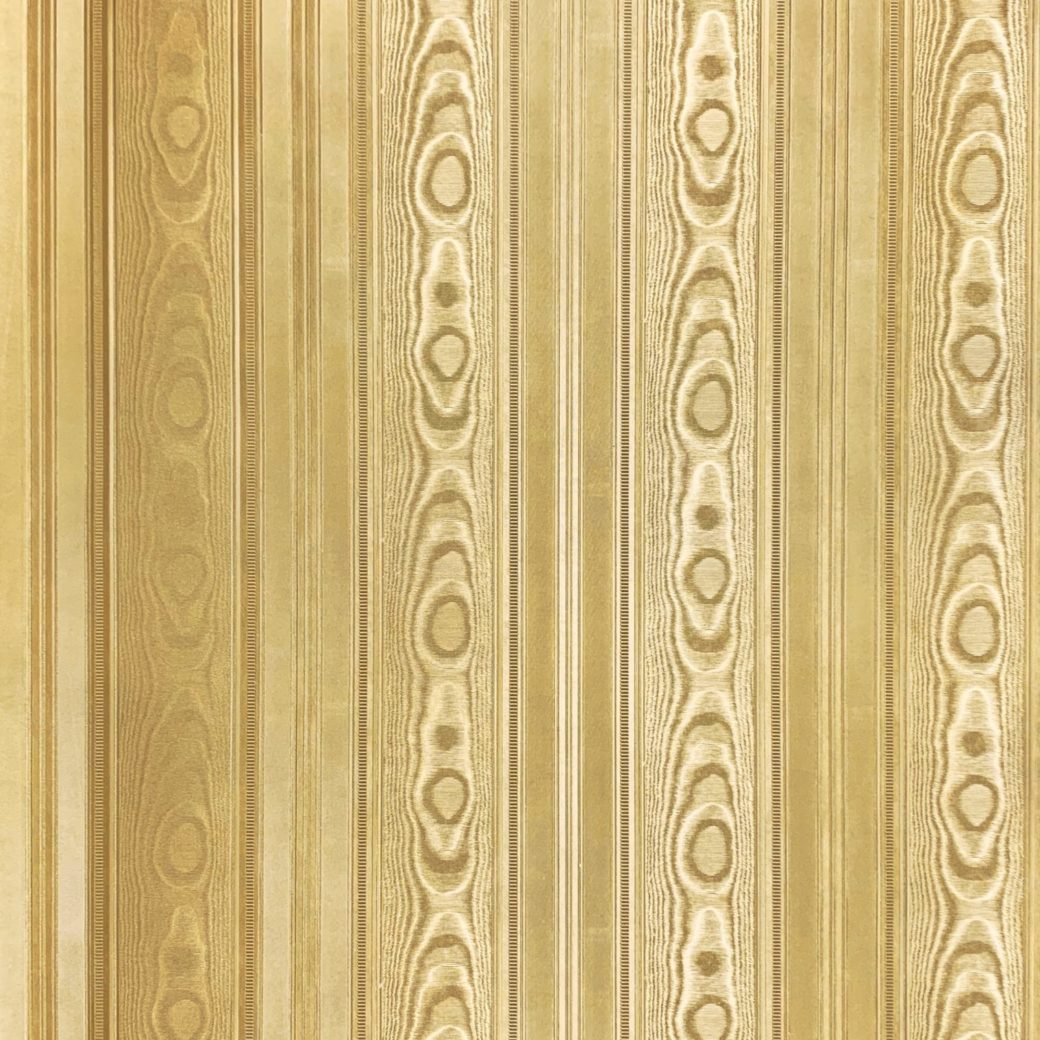 Vintage gold wallpaper with stripes 6